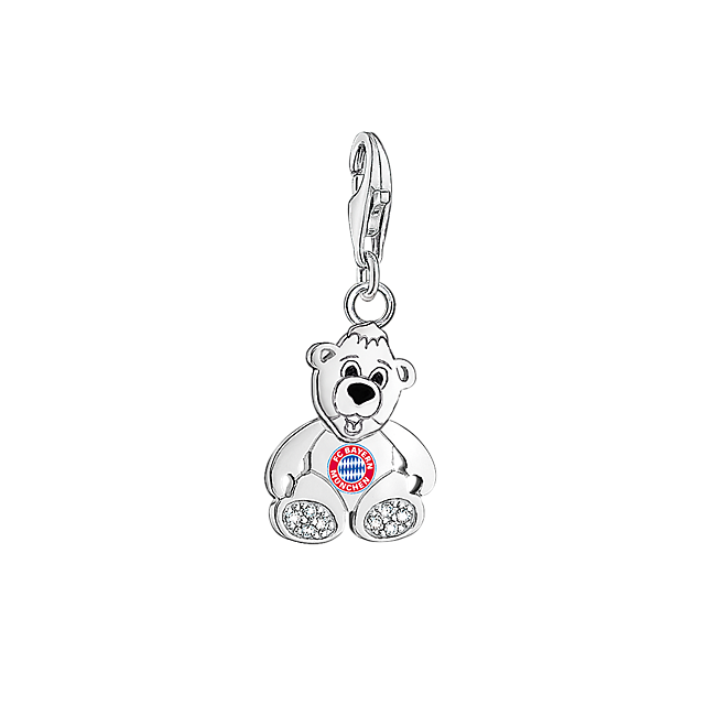 thomas sabo charm fc bayern logo berni offizieller fc. Black Bedroom Furniture Sets. Home Design Ideas