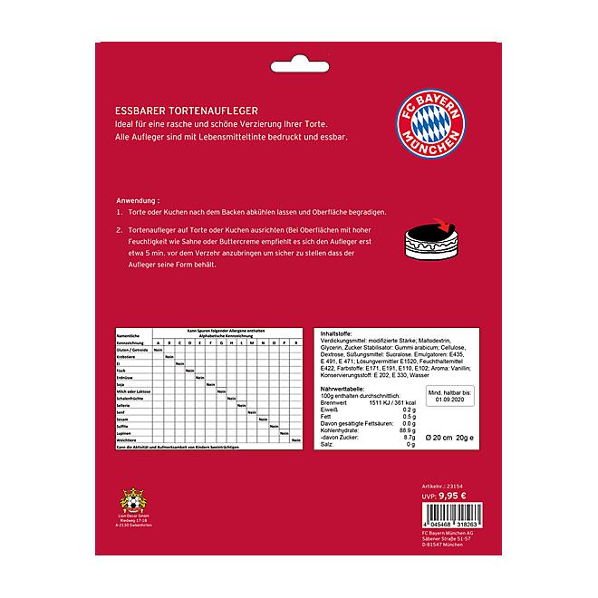 Tortenaufleger Logo FC Bayern