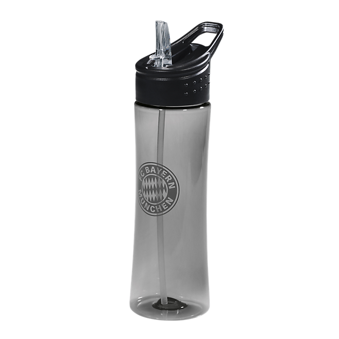 Bottle transparent anthracite 0,75 l