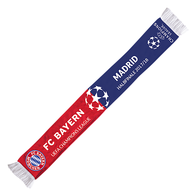 UCL Scarf Real Madrid Semifinal 2018