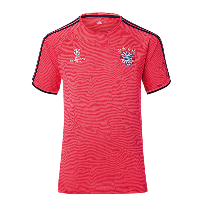 UCL-Teamline Trainings Shirt flash red