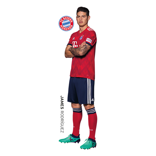 Wall Sticker FCB James Rodríguez