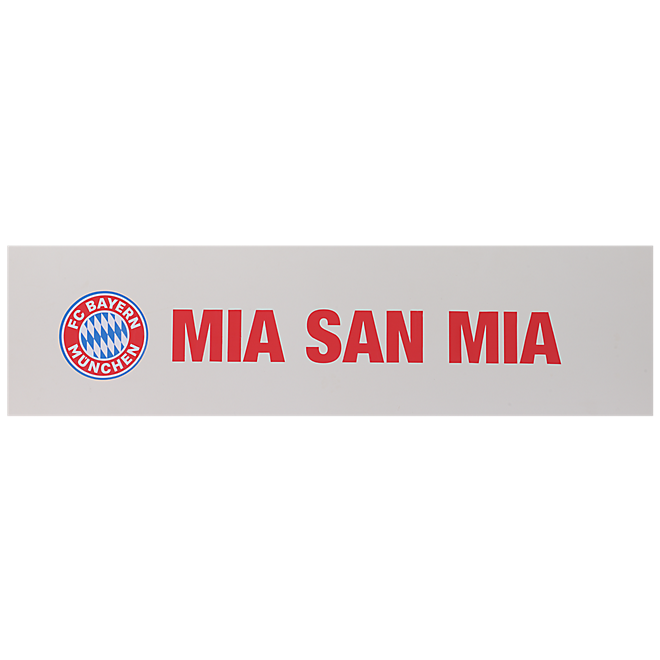 wandtattoo mia san mia offizieller fc bayern fanshop. Black Bedroom Furniture Sets. Home Design Ideas