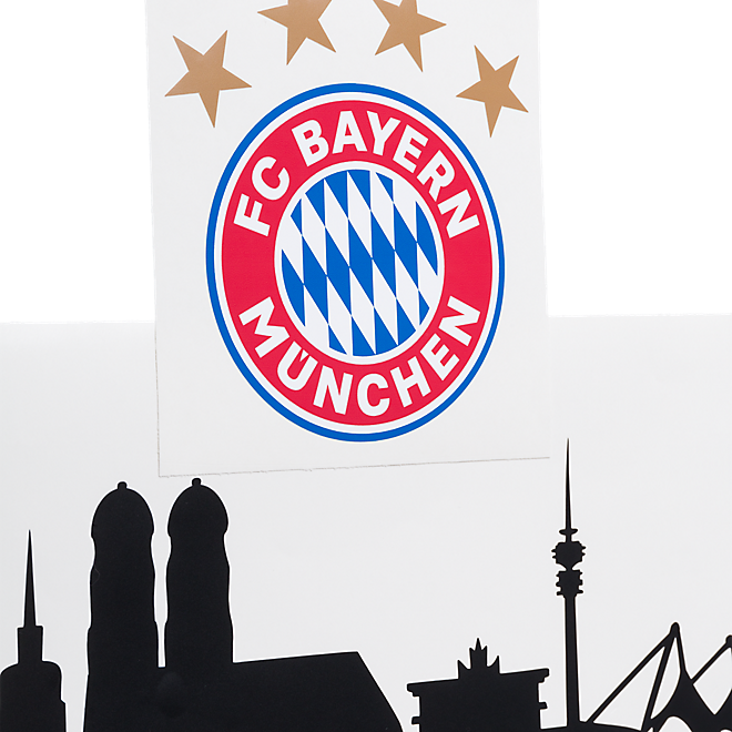 wandtattoo skyline offizieller fc bayern fanshop. Black Bedroom Furniture Sets. Home Design Ideas