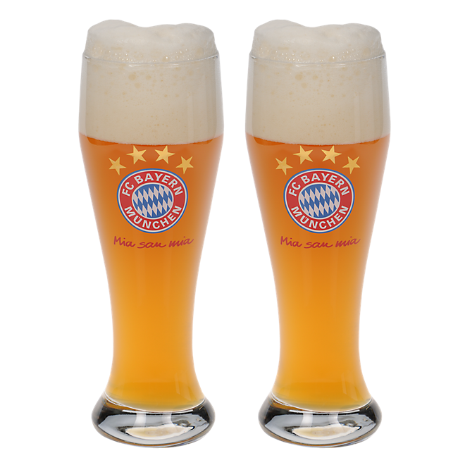 Glass for Wheat Beer (Set of 2)