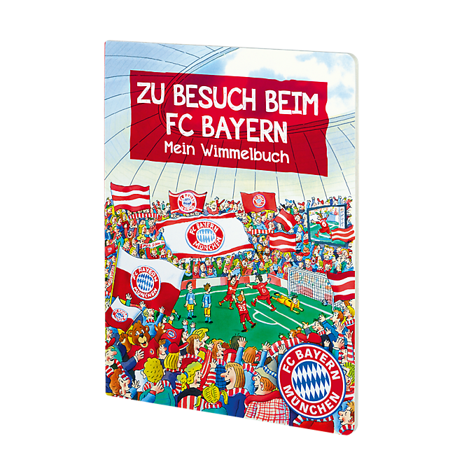 Hidden Object Book Visiting FC Bayern
