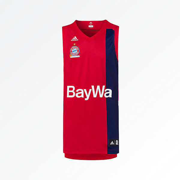 Camiseta para niños adidas Basketball Home 18/19