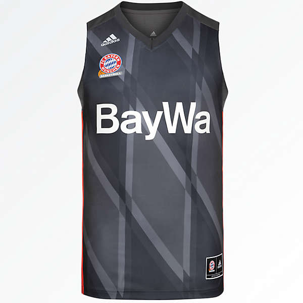 adidas Basketball Trikot Away 17/18