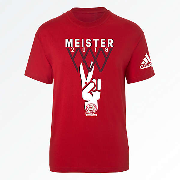 adidas BB T-Shirt Deutscher Meister 2018