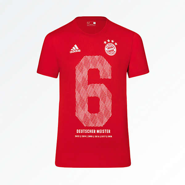 adidas Kinder T-Shirt Deutscher Meister 2018
