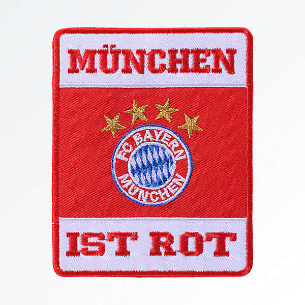 München ist rot Patch