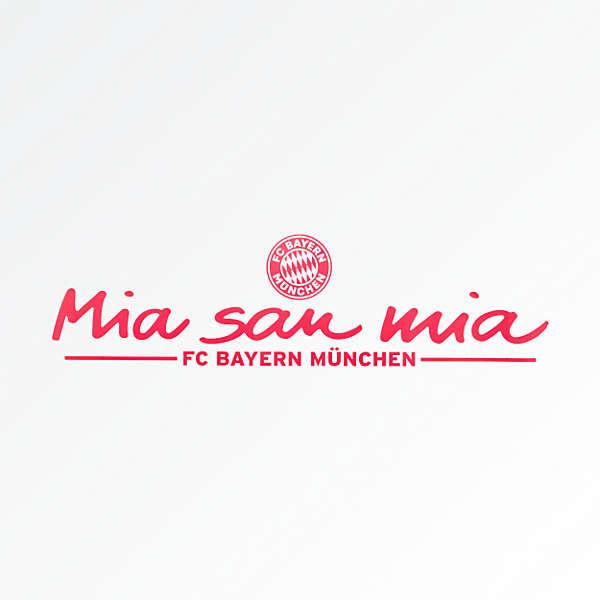 Car Sticker Mia San Mia