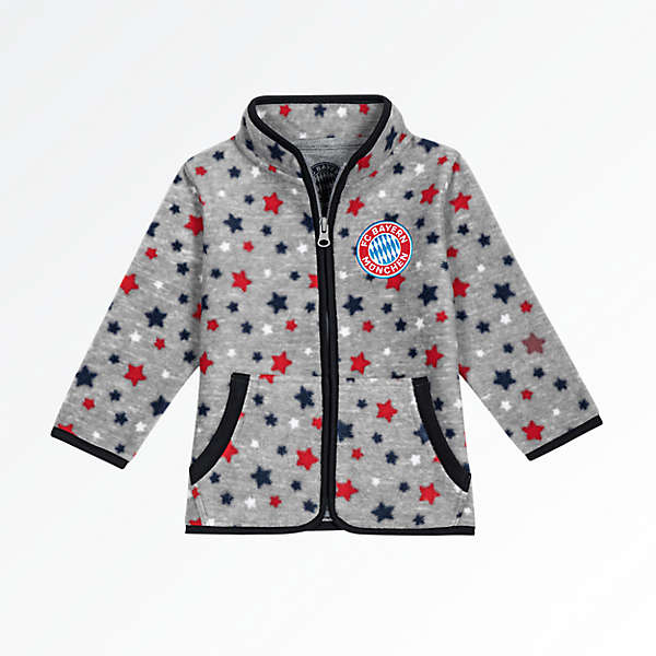 Baby Fleece Jacket Stars