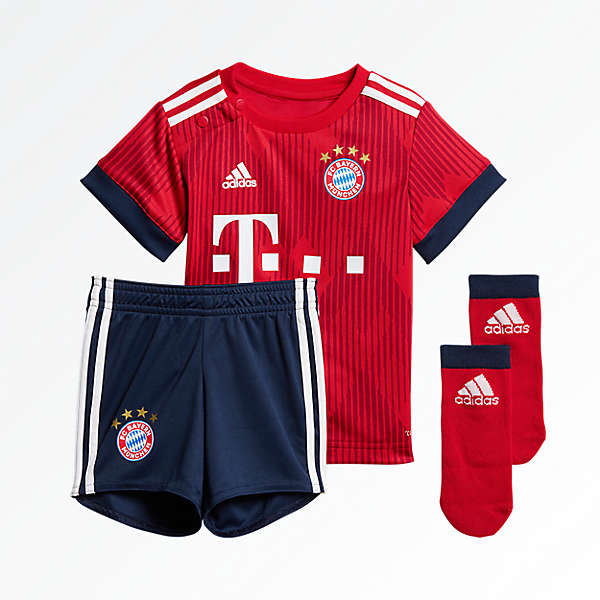 Baby Kit de la camiseta Home 18/19