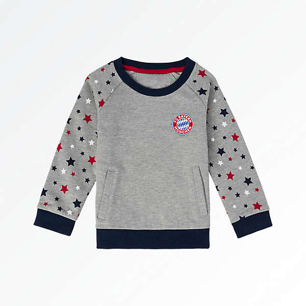 Baby Sweatshirt Sterne