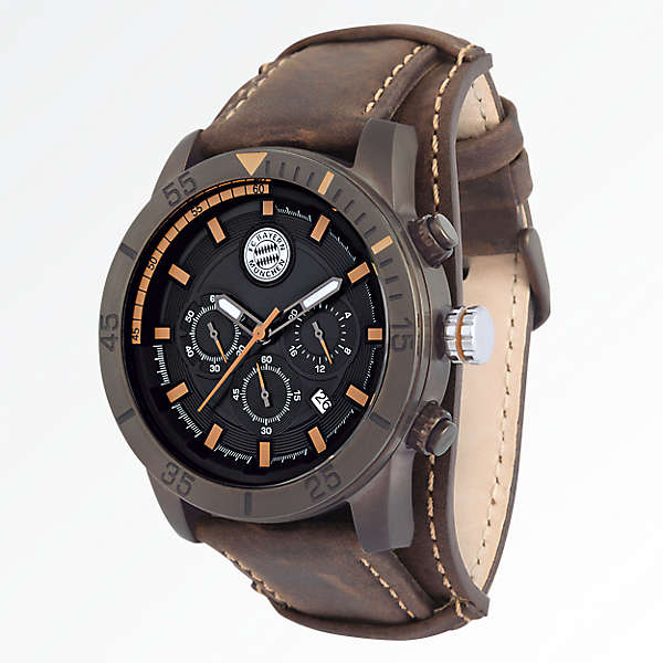 Leather Chronograph
