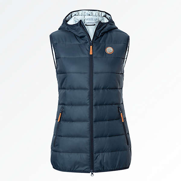 Quilted Vest Lady
