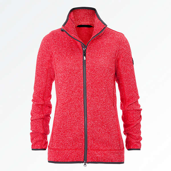 Knit Fleece Jacket light Lady