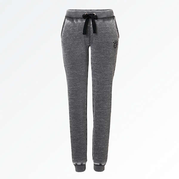 Sweatpants Black Logo Lady