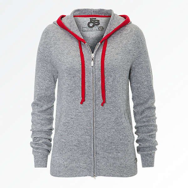 Zip-Hoodie Lady Cashmere