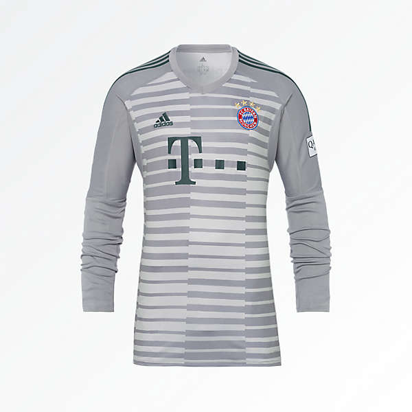 FC Bayern Kids Shirt Goalkeeper 18/19