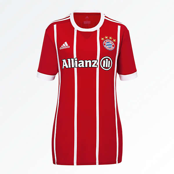 FC Bayern Shirt Home Women Soccer Allianz) 17/18