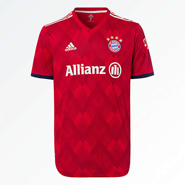 FC Bayern Jersey Home Women Soccer (Allianz) 18/19