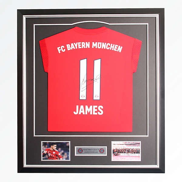 Framed Jersey James