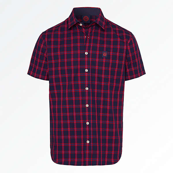 Shirt Checkered Emblem Short