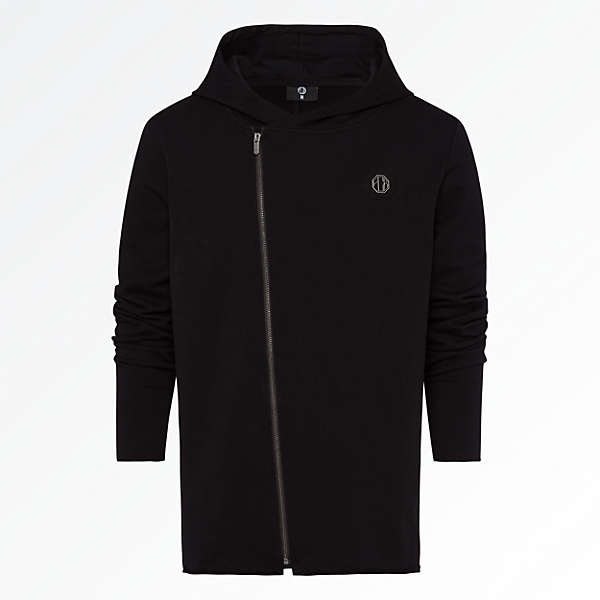 Hooded Jacket Black Badge