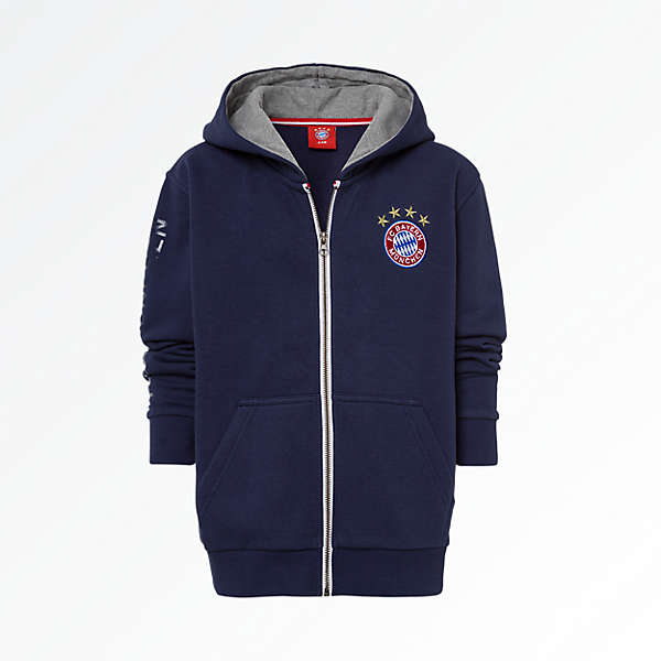 Children's Hooded Jacket Classic Navy