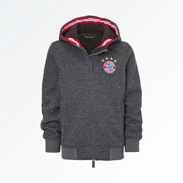 Kids Knitted Fleece Jacket