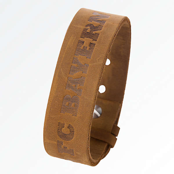 Leather Armband FC Bayern