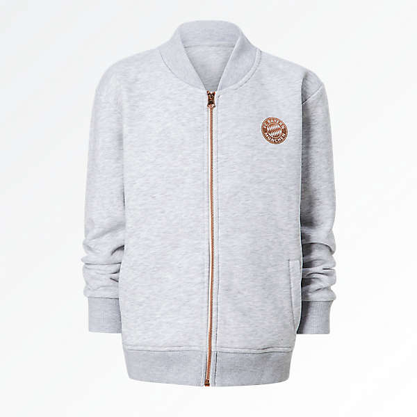 Zip Jacket Girls rosegold