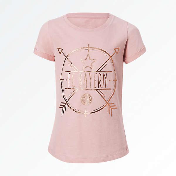T-Shirt Girls rosegold
