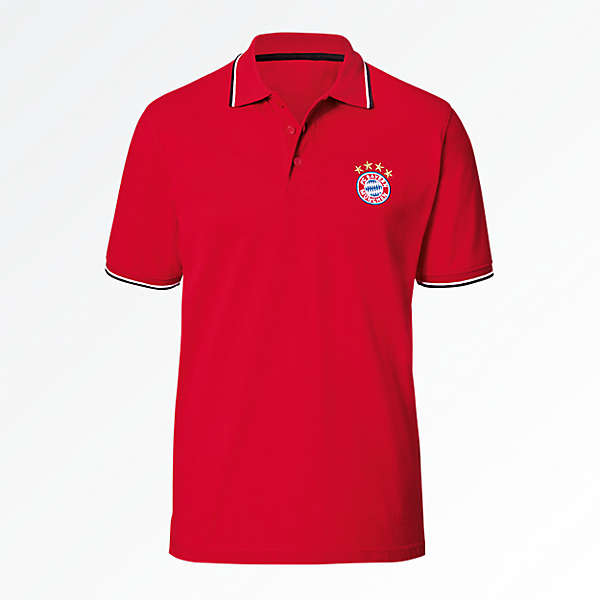 Poloshirt Classic red