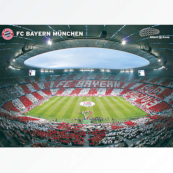 Póster Allianz Arena Ambiente interior 360°
