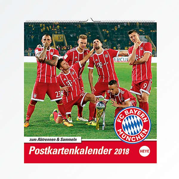 Postcard Calendar 2018