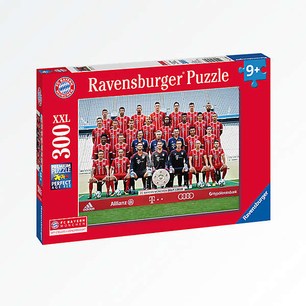 Jigsaw Puzzle Team 17/18 (300 pieces)