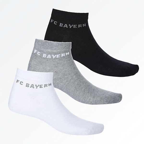 Sneaker-Socken 3er Set
