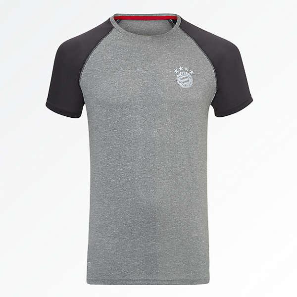 T-Shirt FCB Sports anthracit