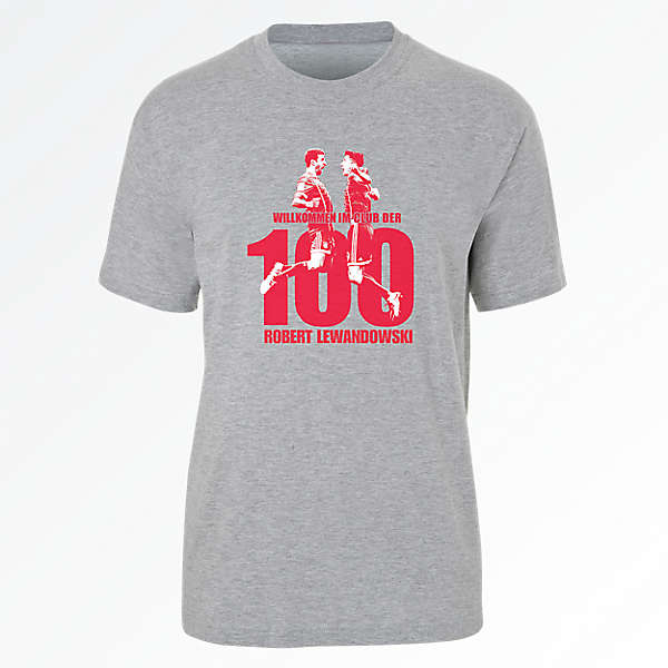 T-Shirt Lewandowski 100 Goals