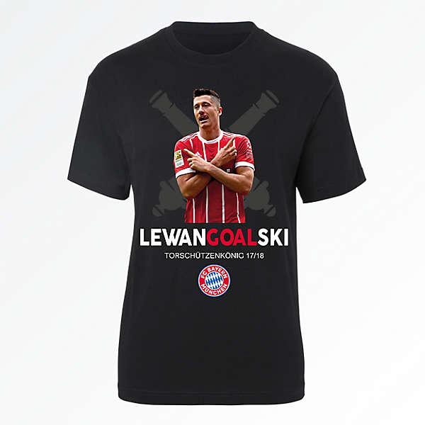 T-Shirt LewanGOALski 2017/18