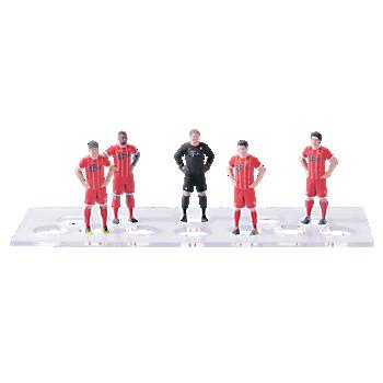 3D Staramba Spielerfiguren 5er Set 2017/18
