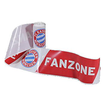 Absperrband Fanzone