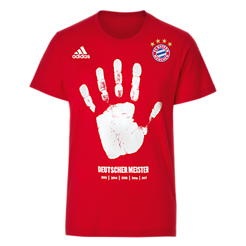 adidas T-Shirt Deutscher Meister 2017