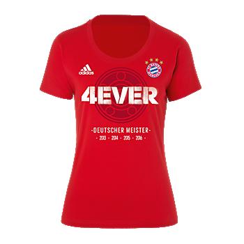 adidas T-Shirt Lady Deut. Meister 2016