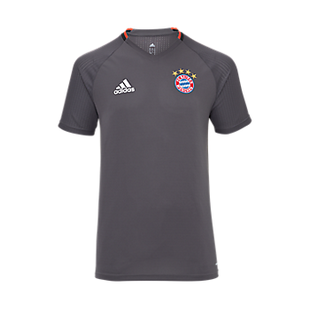 adidas Teamline Trainingsshirt grey Kids