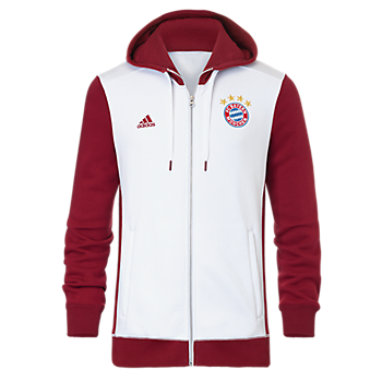 adidas Hoodie with Zipper Champions League Lifestyle