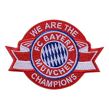 Aufnäher Champions